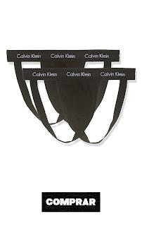 Calvin Klein Ropa Interior Deportiva para Hombre, color negro