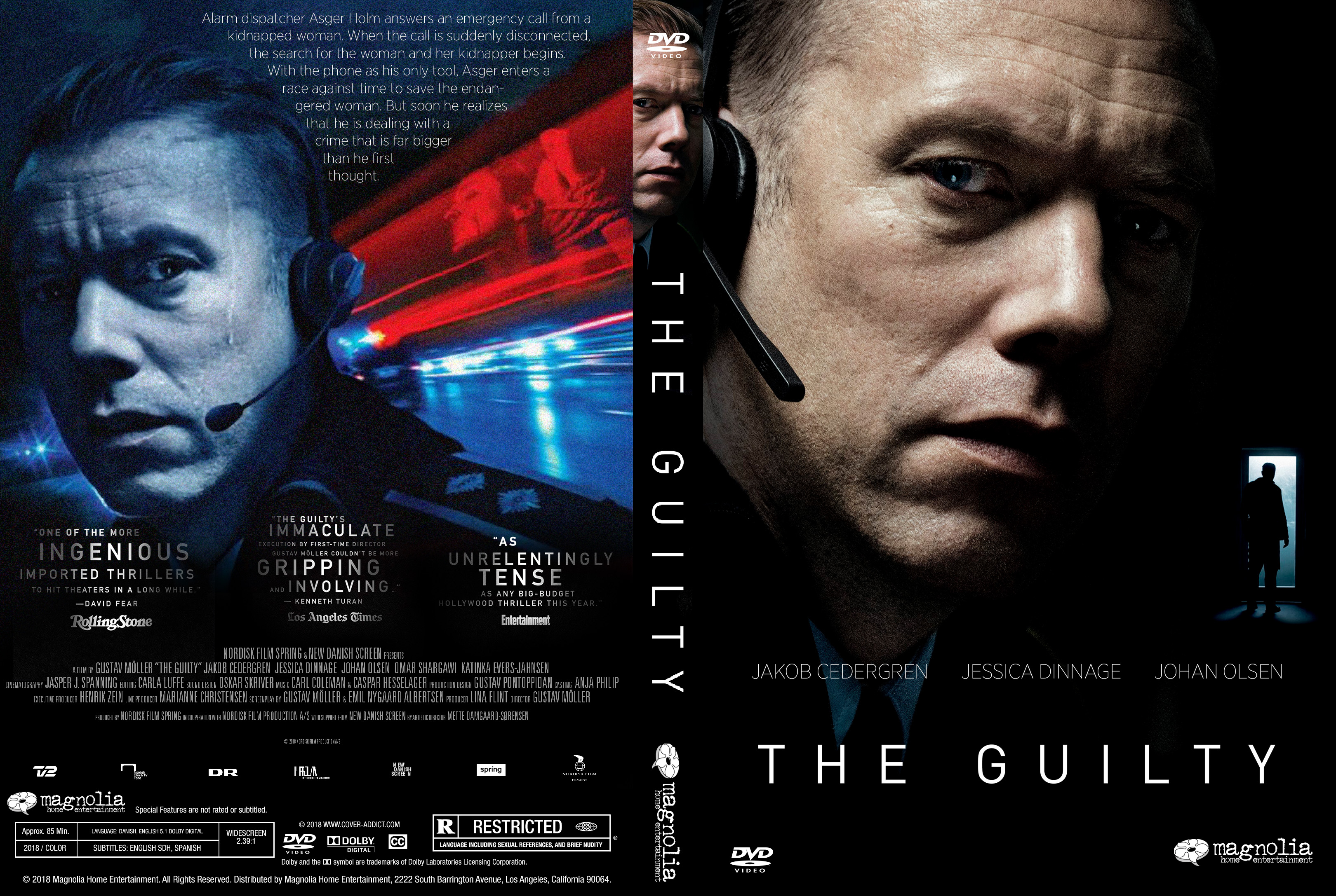 The Guilty Dvd Cover Cover Addict Free Dvd Bluray Covers And Movie Posters