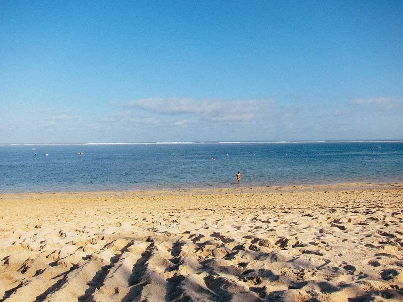 Fasilitas Wisata di Pantai Geger Nusa Dua Bali