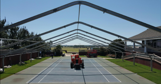 Clearspan Tents available for rent from Encore Event Rentals in Shreveport, LA