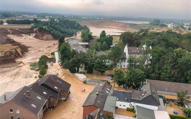 Γερμανία-πλημμύρες: Τουλάχιστον 156 οι νεκροί