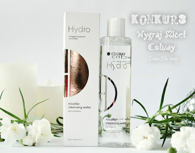 Świąteczny KONKURS z Lagenko - wygraj Kolagenowy płyn micelarny Colway Hydro