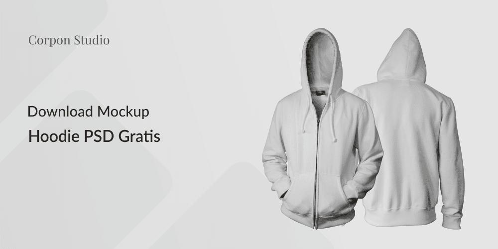 Download Mockup Template Hoodie PSD