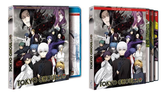 Tokyo Ghoul:re (Selecta Visión) - Blu-ray y DVD
