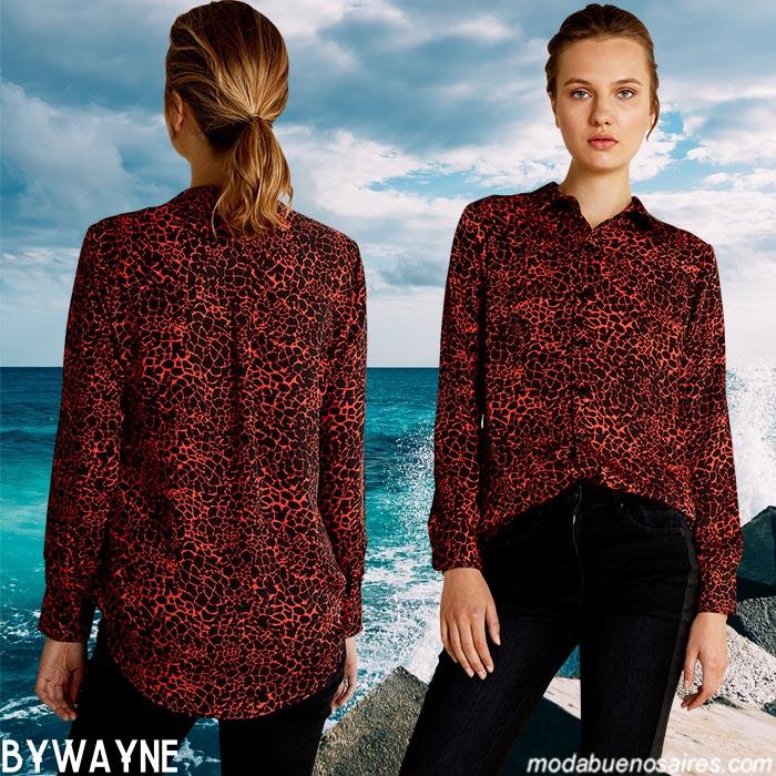 Camisas de mujer 2020. Moda 2020 camisas de muje. Moda ropa de mujer primavera verano 2020.