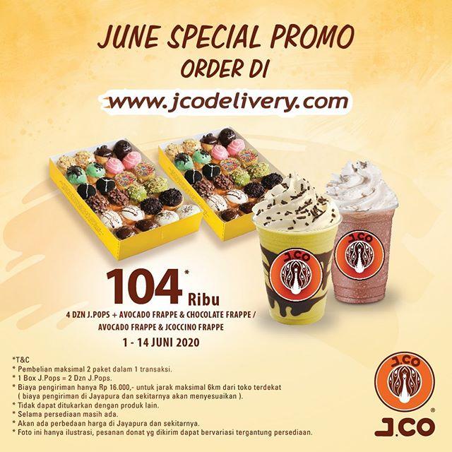 #JCO- #Promo Paket Special June Hanya 104K di JCO Delivery (s.d 14 Juni 2020)