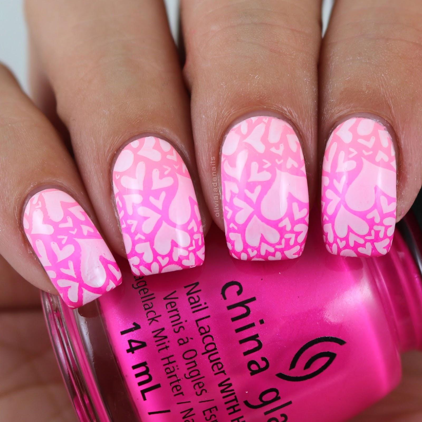 Olivia Jade Nails: Lina Nail Art Supplies All About Love 01 Stamping ...