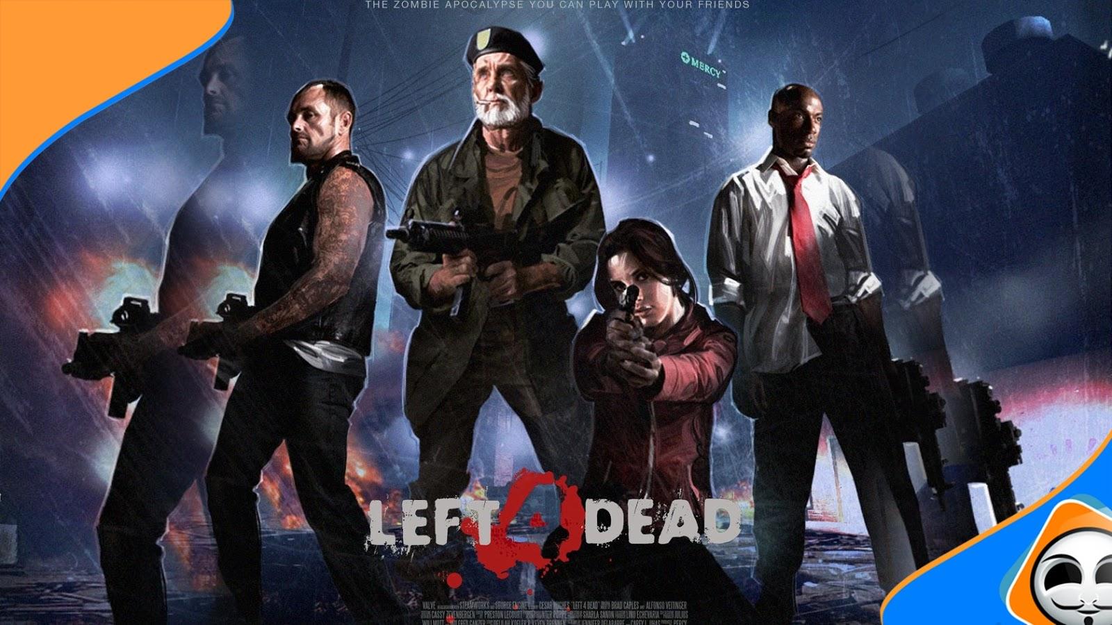 تحميل وثبيت لعبة Left 4 Dead الرائعة إقضي على كائنات