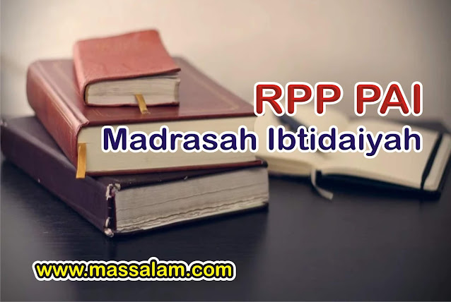 RPP Bahasa Arab SD/MI Kelas 4 Semester 1-2
