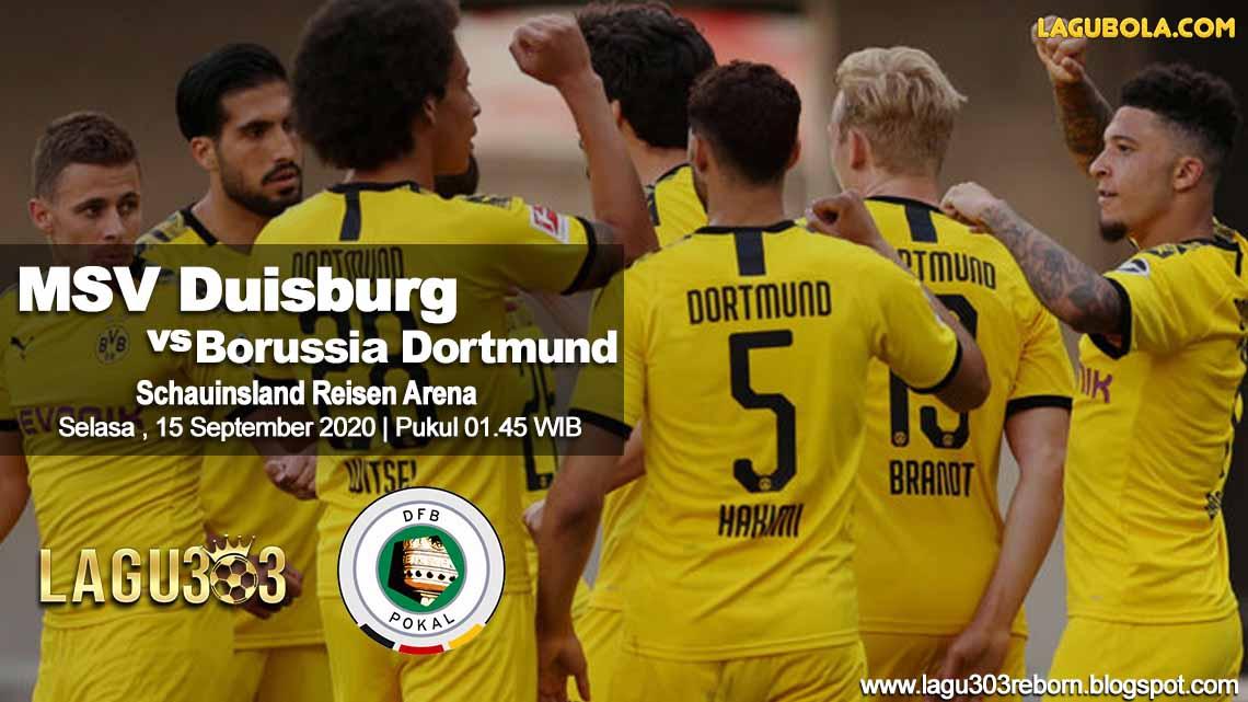 Prediksi MSV Duisburg Vs Borussia Dortmund