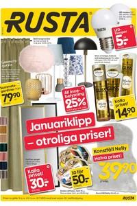 عروض جميع محلات روستا حتى 21/1 - Rusta stores offers this week