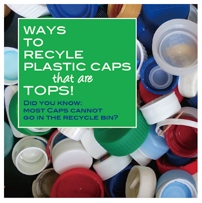 Creative ways to recycle bottle caps or donate them for good use!