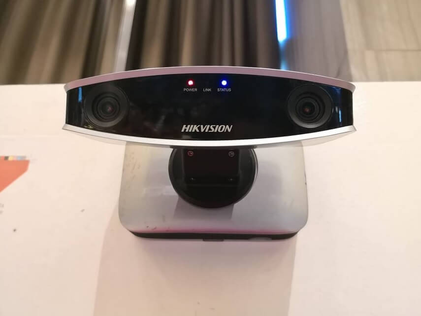 Hikvision Dual-Lens Face Recognition Camera