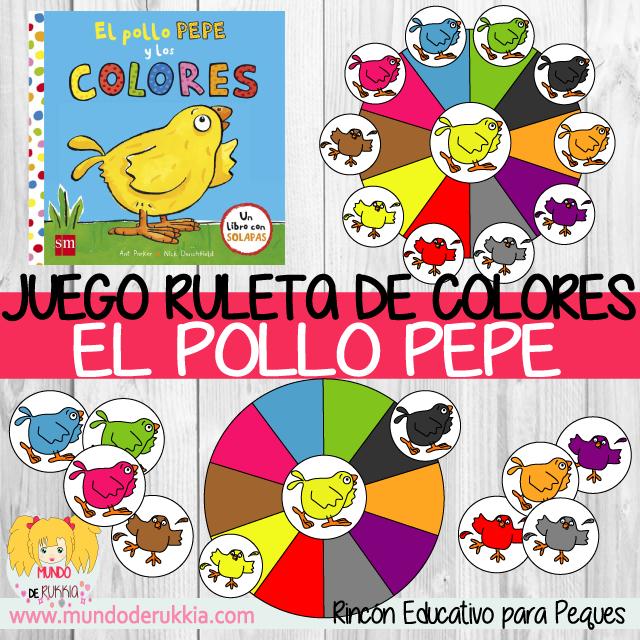 Juego de Colores del Pollo Pepe