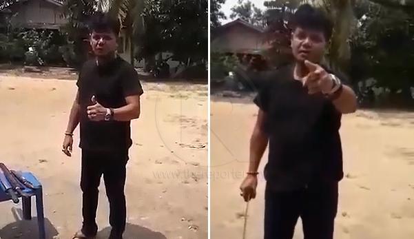 'Jangan cabar orang Melayu' - Lelaki ini tayang senjata, beri amaran kepada bangsa asing tetapi tidak disenangi netizen