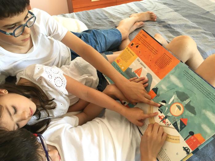 libro infantil edelvives conocimientos El tiempo, libro informativo meteorología