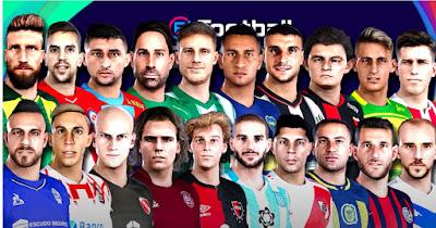 PES 2021 MegaFacepack liga Argentina