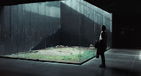 Internal courtyard with glass walls