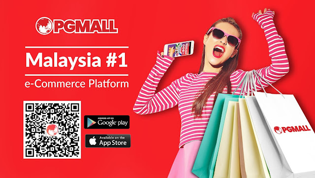PGMall Malaysia ecommerceplatform MaybankQRPayCashback ShopOnline malaysian blogger cestlajez