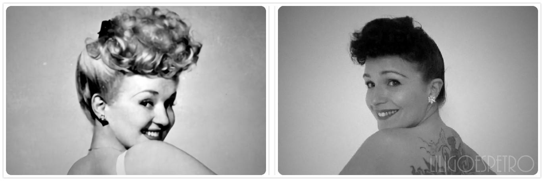 Lili Goes Retro 40er Jahre Frisuren Betty Grable Bangs