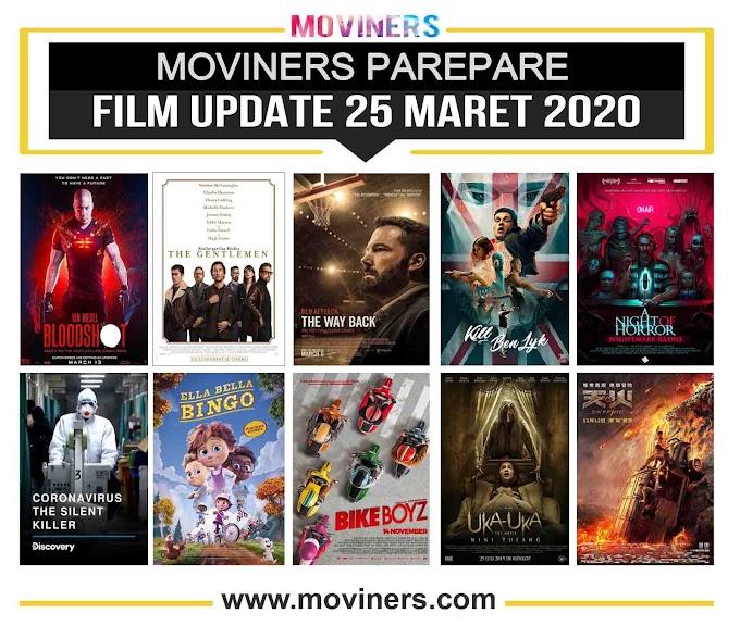 FILM UPDATE 25 MARET 2020