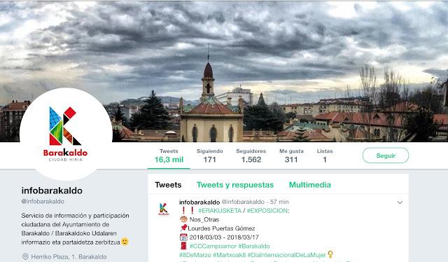 twitter del Ayuntamiento