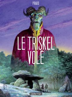 BD Le Triskel volé de Prado aux éditions Casterman