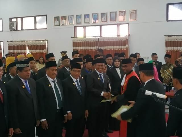 Ketua Pengadilan Kukuhkan 45 Wakil Rakyat Kabupaten Bima