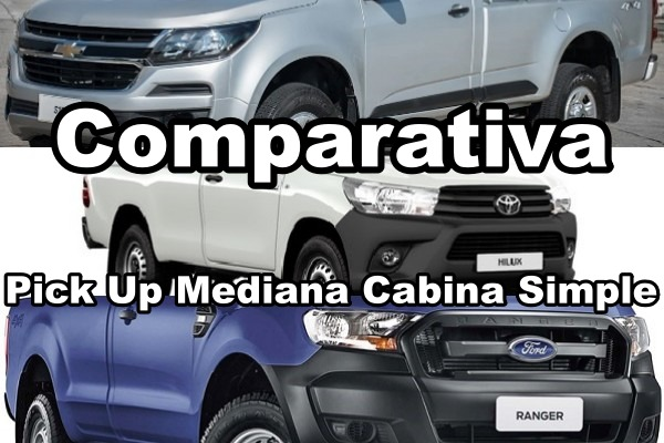 Comparativa Ford Ranger Chevrolet S10 Toyota Hilux