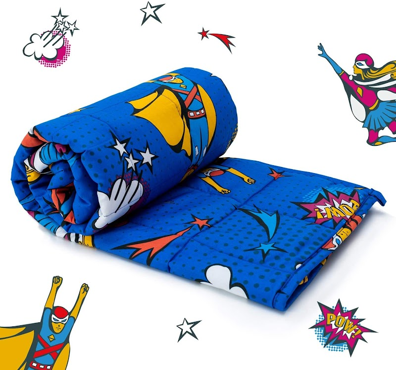 50% OFF ON Cottonblue Cotton Weighted Blanket for Kids