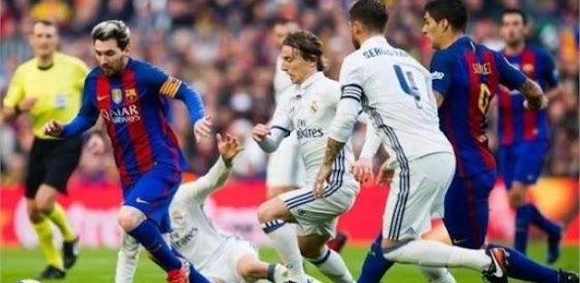 بالتردد ...  قناة مشهوره على النايل سات تنقل كلاسيكو ريال مدريد وبرشلونة + 4 قنوات اخرى