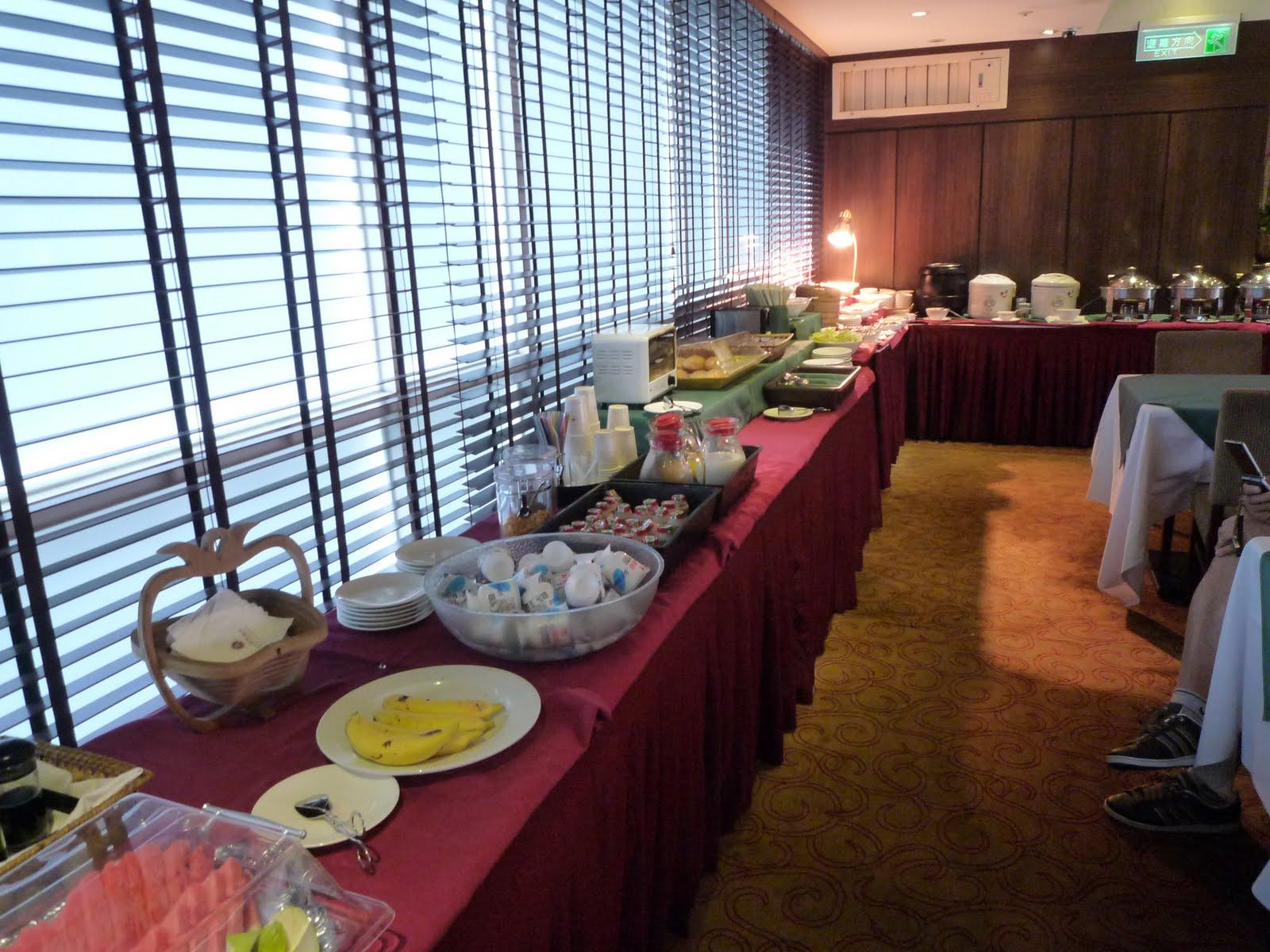 Slightly jet-lag: 臺灣 臺北 臺北國際飯店 朝食