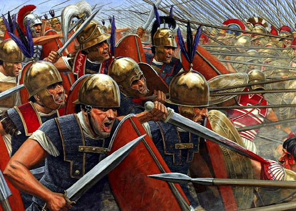 The Romans conquered the plain of Latium, the Italian peninsula - Official Website - BenjaminMadeira