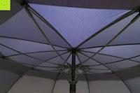 unten: Golf Regenschirm, Pomelo Best Automatik auf Windresistent mit 128cm Durchmesser aus robusten 190T Pongee Stockschirm geeignet für 3-4 Personen