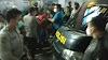 Diduga Terkena Peluru Nyasar, Puluhan Kaum Hawa Hadang Mobil Polisi
