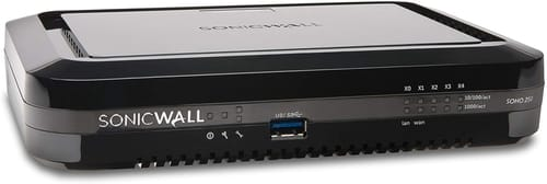 SonicWall SOHO 250 Network Security Appliance