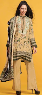 Gul Ahmed Linen Collection 2017