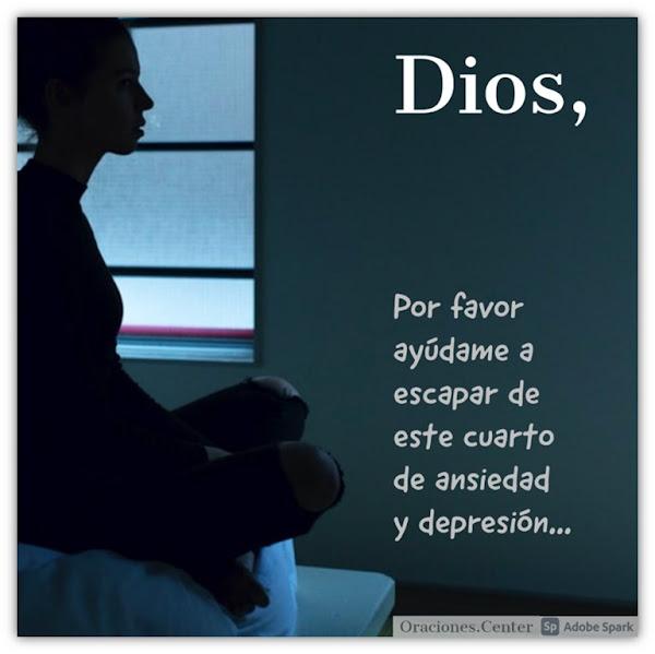 Oración para depresión y ansiedad