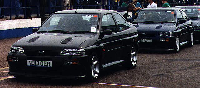 MK5 Эскорт RS Cosworth