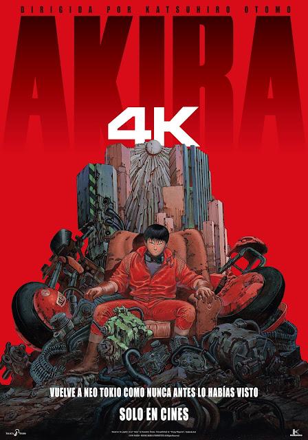 AKIRA en 4K en cines 11 de diciembre