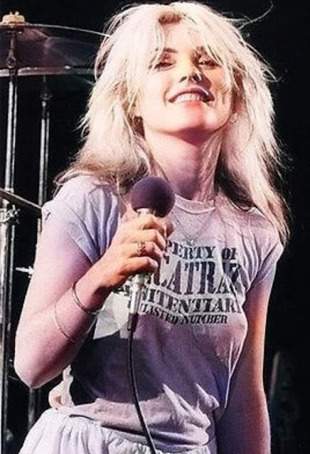 Blondie Debbie Harry Alcatraz shirt (color photo).  PYGear.com
