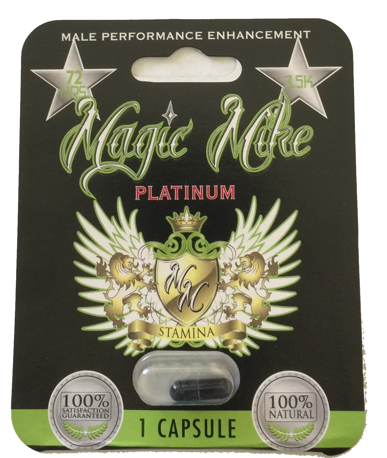 Magic Mike Platinum Male Enhancement