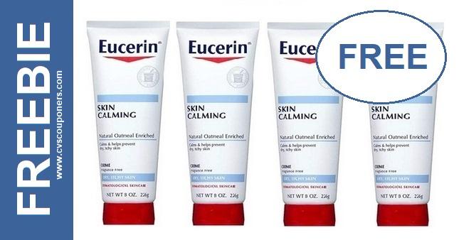 FREE Eucerin Calming Lotion at CVS 11-10-11-16