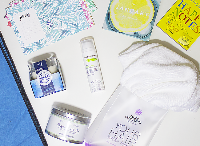 January POPSUGAR Must Have Box Review + Coupon Code