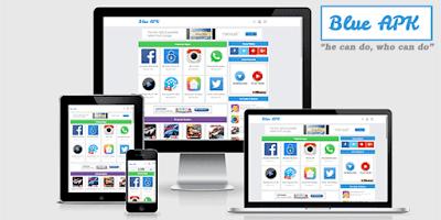 Blue APK - Responsive and SEO Blogger Template
