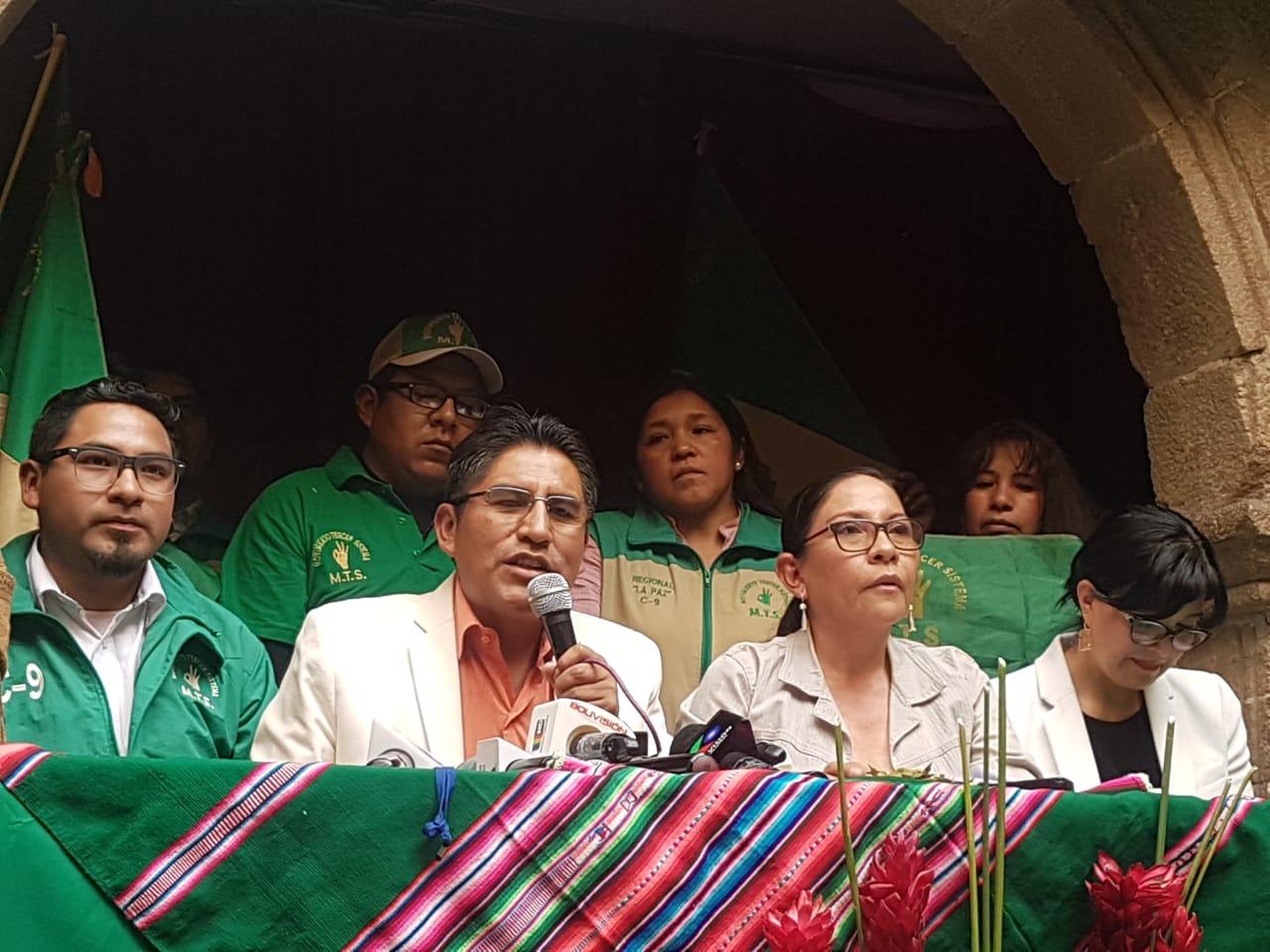 El gobernador de La Paz aseguró que trabajará para las elecciones subnacionales / MTS