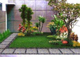 Inspirasi Taman Minimalis untuk Depan Rumah