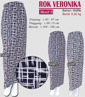 Rok span motif monochrome yang cantik dan anggun - veronika3
