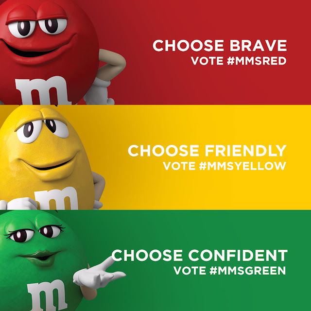 Vote M&M'S® 2016 Campaign