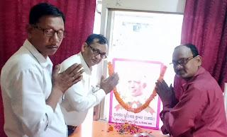 कुम्भकार समाज ने मनायी डा. रत्नप्पा कुम्भार की 112वीं जयन्ती  | #NayaSaberaNetwork
